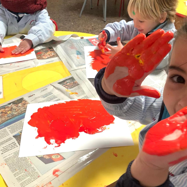 proyecto de las profesiones en 1º Infantil